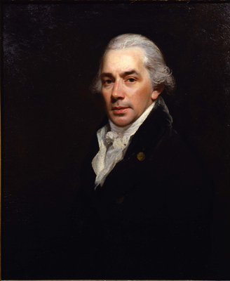 Portrait of Matthew Lews Snr d.1812, Sir William Beechey