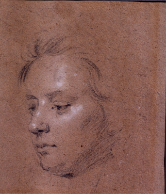 Head Study of a Young Boy, Sir Godfrey Kneller Bt.