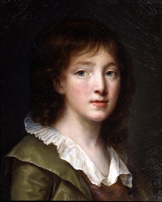 Portrait of a young boy, c.1790, John Baptiste Greuze