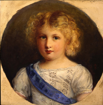 Portrait of a Little Boy with a Blue Sash, Sir John Everett Millais