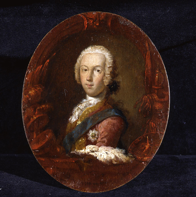 Portrait of Prince Charles Edward Stuart, The Young Pretender (1720 - 1788), Sir Robert Strange