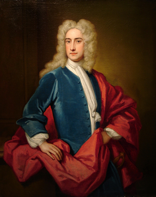 Portrait of Samuel Sandys, first Baron Sandys of Ombersley (1695–1770), Sir Godfrey Kneller Bt.