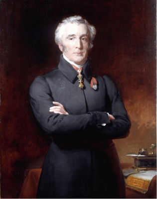 Portrait of the Duke of Wellington KG PM (1769 - 1852), Henry Perronet Briggs