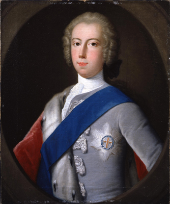 Portrait of Prince Charles Edward Stuart ''The Young Pretender'' (1720 - 1788), After Domenico Dupra