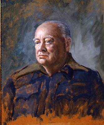 sutherland portrait of churchill