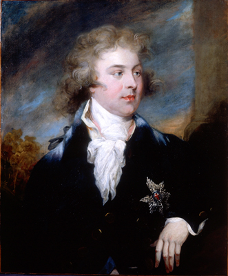 Portrait of The Prince of Wales, later King George IV (1762 - 1830), John Russell RA