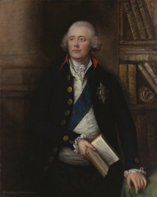 Portrait of George Nugent-Temple-Grenville, 1st Marquess of Buckingham KG (1753–1813), Thomas Gainsborough RA
