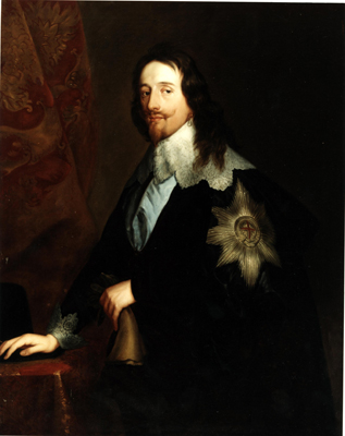 Portrait of King Charles I (1600 - 49), Studio of Sir Anthony Van Dyck