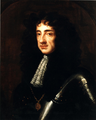 Portrait of King Charles II (1630 - 1685), Studio of Sir Peter Lely