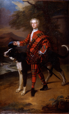 Portrait of John Campbell Lord Glenorchy later 3rd Earl of Breadalbane, Enoch Seeman