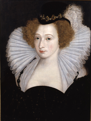 Portrait of a Noblewoman,  French School