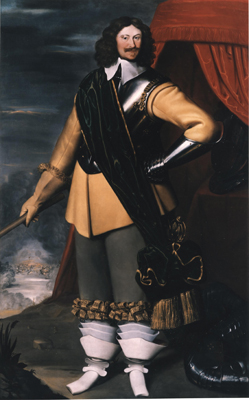 Portrait of Sir William Fairfax of Steeton (1609 - 44), Edward Bower