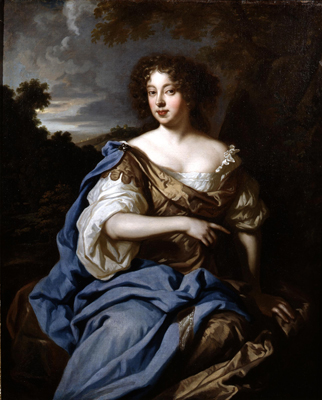 Portrait of a lady called Nell Gwynn, Studio of Sir Peter Lely
