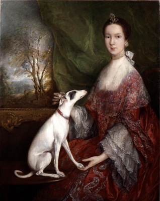 Portrait of Elizabeth Jackson, Mrs Morton Pleydell, c.1760, Thomas Gainsborough RA