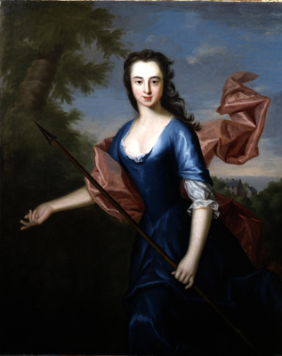 Portrait of Katherine Hall of Dunglass d.1745, Allan Ramsay