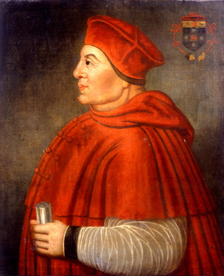 Thomas Wolsey Philip Mould Historical Portraits Cardinal Wolsey