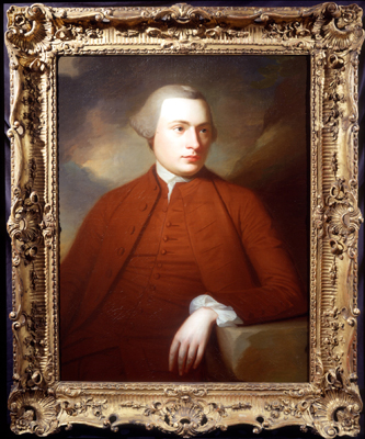 Portrait of James Wilson, George Romney