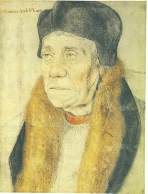 Portrait of Archbishop Warham (1450-1532), Francesco Bartolozzi RA after Hans Holbein