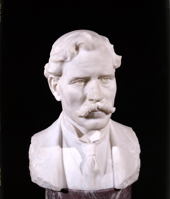 Portrait Bust of James Ramsay Macdonald PM (1866 - 1937), R Wilcoxson