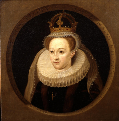 Portrait of Mary Queen of Scots 1542 - 1587,  English School