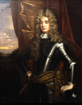 Portrait of John, 3rd Lord Poulett of Hinton House, Sir Godfrey Kneller Bt.