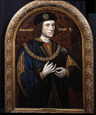 Portrait of King Richard III 1452 - 85, The Sheldon Master