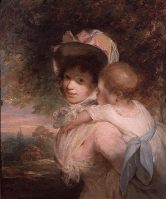 A Mother and Child, John Hoppner RA
