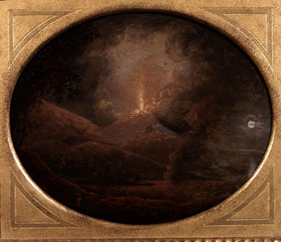 Vesuvius Erupting, Joseph Wright of Derby ARA
