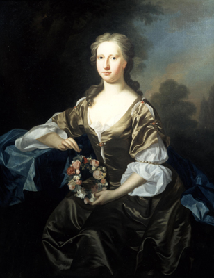 Portrait of a Lady of the Linlithgow Family, Allan Ramsay
