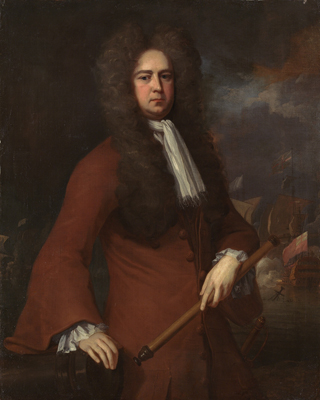 Portrait of Admiral Sir George Rooke (1650 - 1709), Michael Dahl