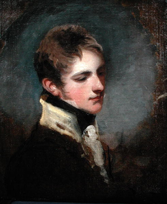 Portrait believed to be Lieutenant Colonel S. Coote Martin (c.1793 - 1815), John James Masquerier