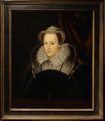 Portrait of Mary, Queen of Scots (1542-1587),  English School