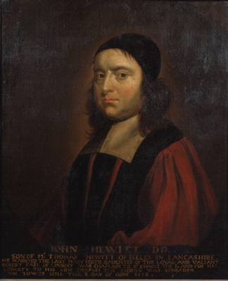 John Hewit DD (1614-1658),  English School
