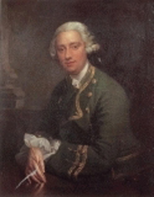 Portrait of Sir John Bingham Bt. of Castlebar (1730-1752), Robert Hunter
