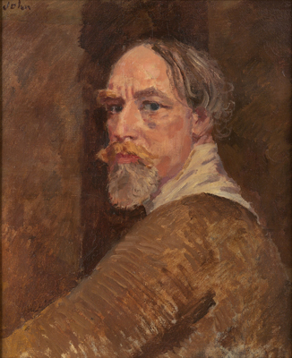 Self-Portrait, early 1930s, Augustus Edwin John
