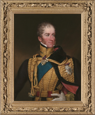Portrait of Henry William Paget, 1st Marquess of Anglesey KG (1768-1854), Francis William Wilkin