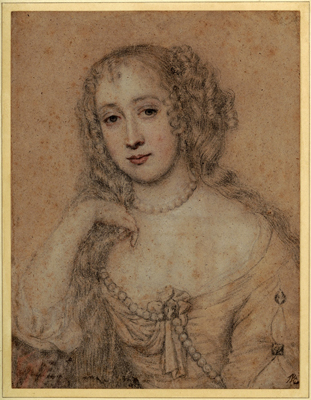 Portrait of a Lady, Attributed to John Greenhill