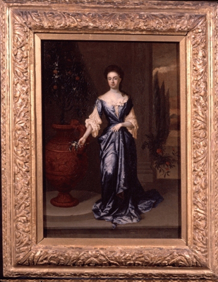 The Hampton Court Beauties, Queen Anne (1665-1714), Edward Byng