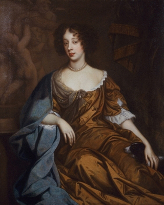 Portrait of Queen Mary of Modena (1658-1718) c.1672, Studio of Sir Peter Lely
