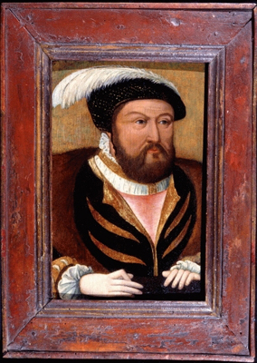 Portrait of King Henry VIII (1491-1547),  Anglo Flemish School