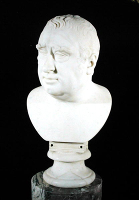 Portrait Bust of Charles James Fox (1749 - 1806), Joseph Francis Nollekens RA