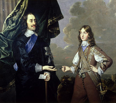 Charles I and the Duke of York, c.1649, Circle of Sir Peter Lely