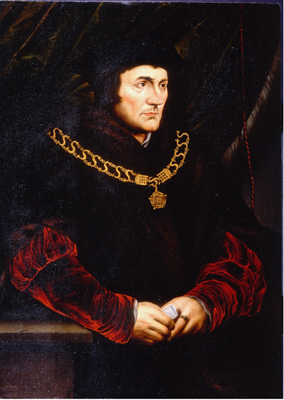 Portrait of Sir Thomas More c.1620,  Anglo-Flemish School