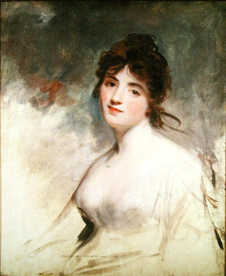 Portrait of Charlotte Anne Child-Villiers Lady William Russell, John Hoppner RA