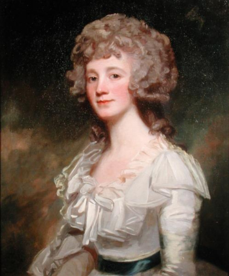 Portrait of Miss Elizabeth Murray, George Romney