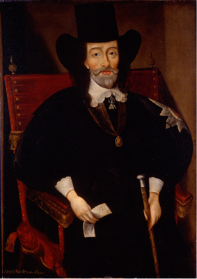 Portrait of King Charles I at his trial (1600 - 1649), Edward Bower, After