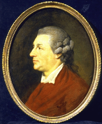 Portrait Sketch of David Garrick (1717-1779) ''the last picture'', Benjamin Vandergucht
