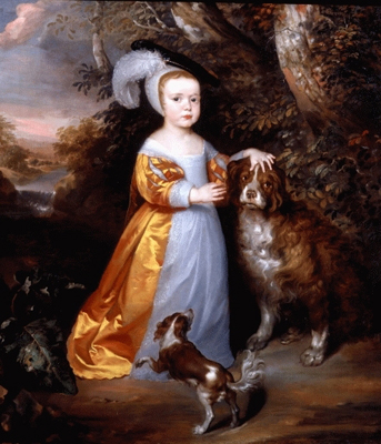 Portrait of Esme Stuart Duke of Richmond (1649-1660) c.1653, John Weesop