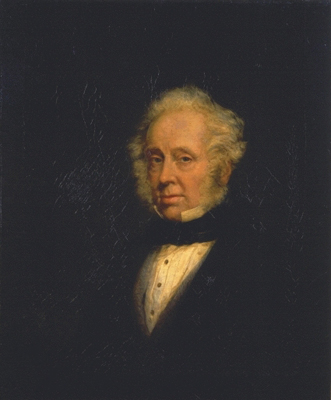 Portrait of Lord Palmerston (1784-1865), Marshall Claxton
