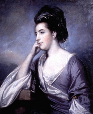 Portrait of the Hon. Mrs John Barrington (pre1738-post1764), Sir Joshua Reynolds PRA